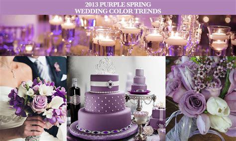 party simplicity 2013 purple spring wedding ideas inspiration