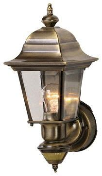 Country Cottage Artisan Brass Outdoor Motion Sensor Wall Light Traditional Outdoor.html