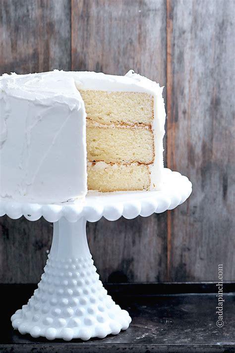 white cake recipe add pinch