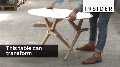 table tranforms coffee table dining table