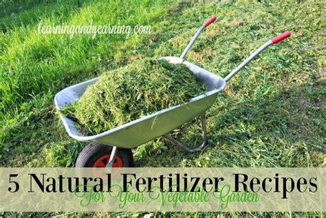 5 natural fertilizer recipes vegetable garden natural garden