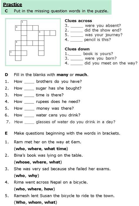 grade 6 grammar lesson 8 questions 3 grammar