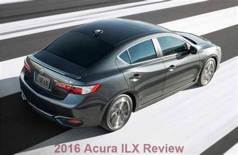 2016 acura ilx review pricing car junkie