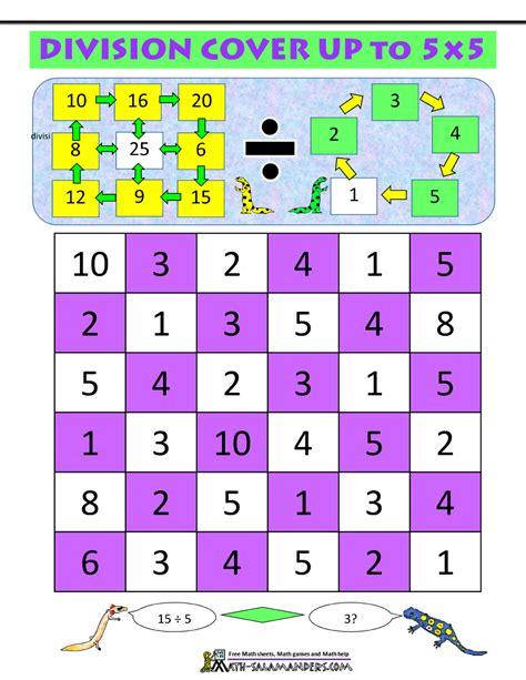 math division games