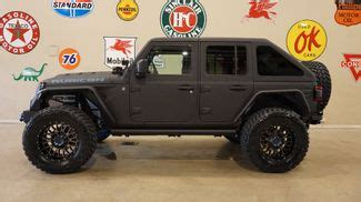 custom jeeps carrollton tx texas vehicle exchange