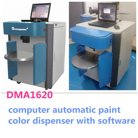 computer automatic paint color tinting machine software china
