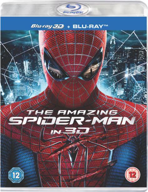amazing spider man 3d includes ultraviolet copy blu