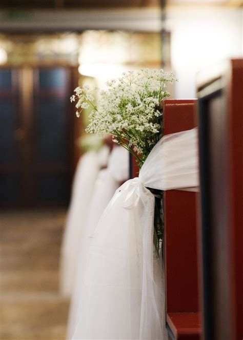 simple wedding church decor norwegian diy wedding blog