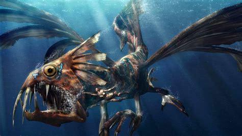 terrifying mythical sea creatures youtube