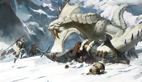 monster dlc hoping snow zone feel
