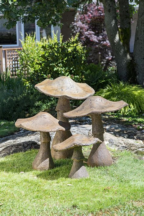 decorative garden mushroom ornament 32 castart studios