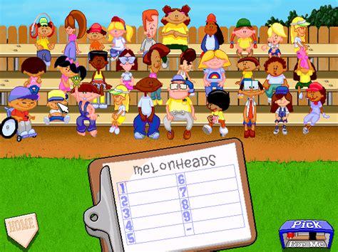 backyard baseball 97 video game owned play today