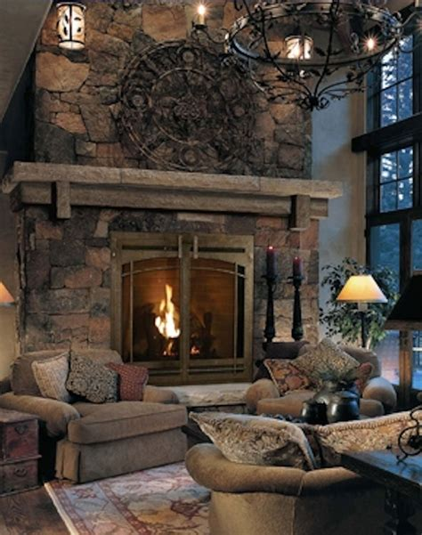 stone fireplace mantle hearth