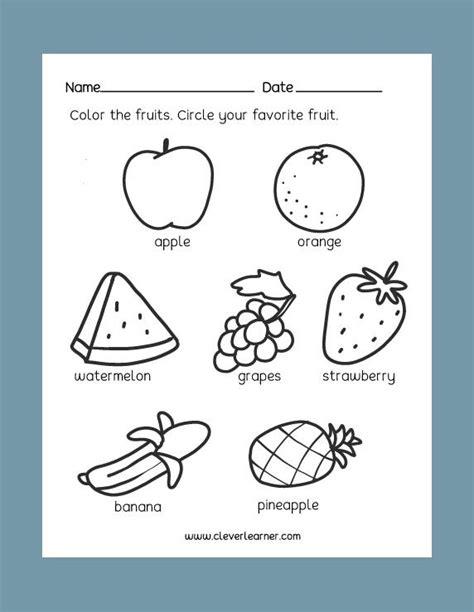 free preschool science worksheets healthy unhealthy foods activity