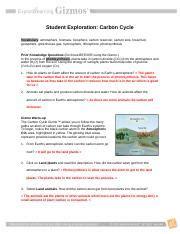 sdulai chem30 carbongizmocx student exploration carbon cycle vocabulary