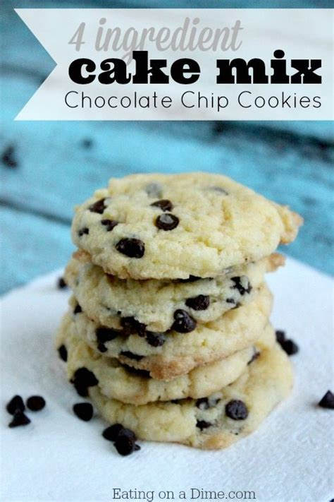 cake mix chocolate chip cookie recipe cake mix