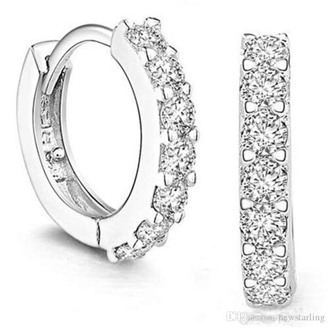 2019 good quality 925 sterling silver small hoop