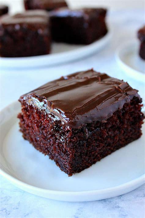 bowl chocolate cake recipe rich decadent moist chocolate