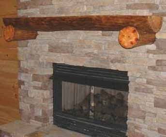 log mantle fireplace mantels surrounds