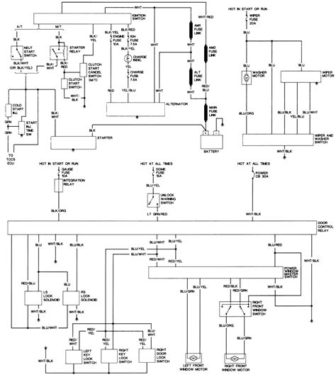 repair guides wiring diagrams wiring diagrams autozone diagram