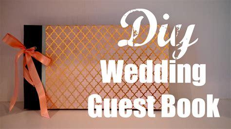diy wedding guest book youtube