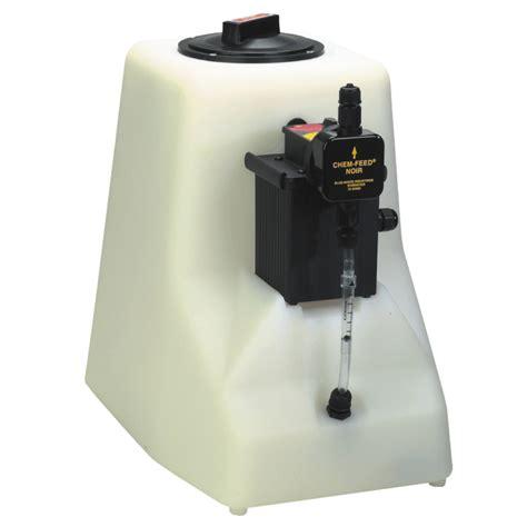 blue white t15n302x026v01 diaphragm chemical feed pump tank