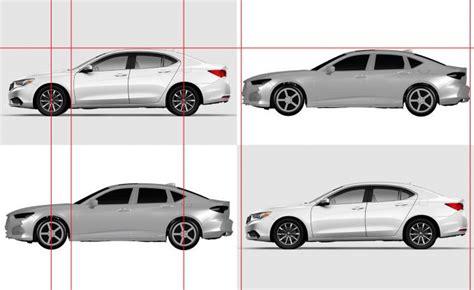 2021 acura tlx patent images show luxury sedan
