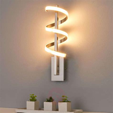 twisted led wall light pierre lights