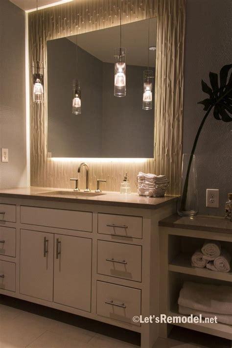 backlit mirror bathroom mirror makeover unique bathroom mirrors