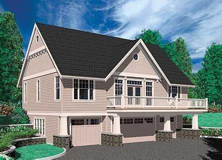 plan 69394am bedroom suite car garage carriage house