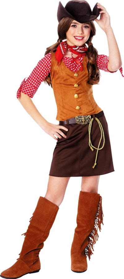 gunslinger cowgirl costume girls party city