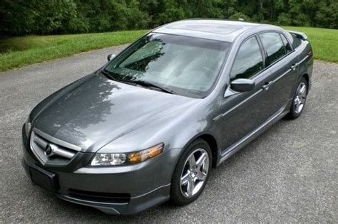 find 2004 acura tl spec package charcoal gray
