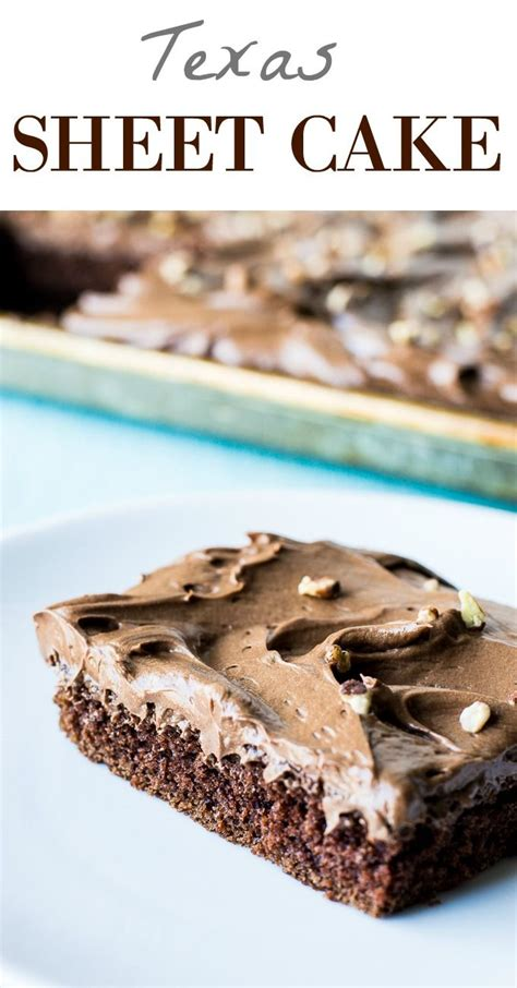 texas sheet cake whipped ganache frosting recipe chocolate