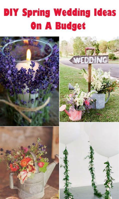 20 creative diy wedding ideas 2016 spring spring