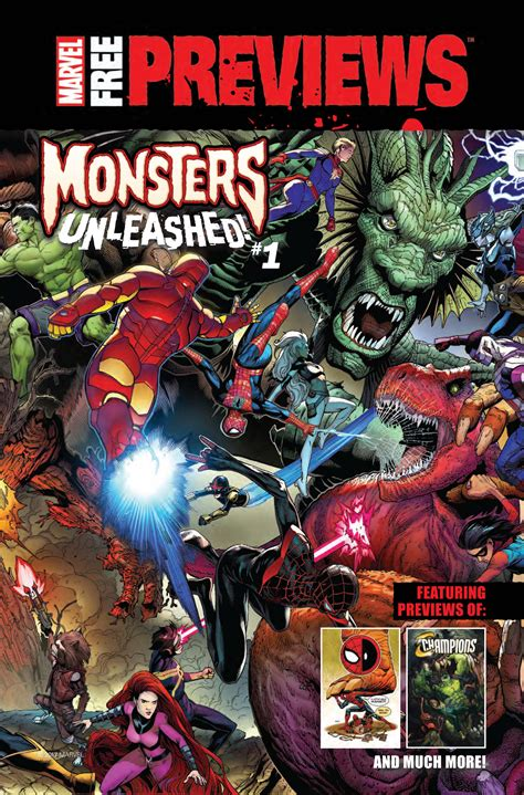 witness free 21 page preview monsters unleashed marvel