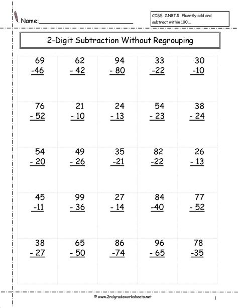 digit subtraction regrouping worksheet addition subtraction worksheets