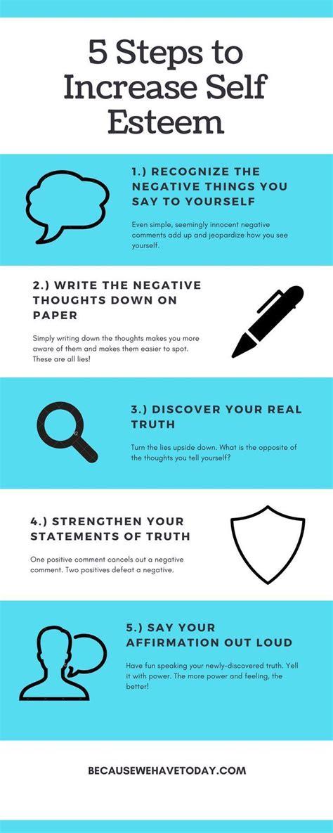 5 steps increase esteem esteem increase esteem improve