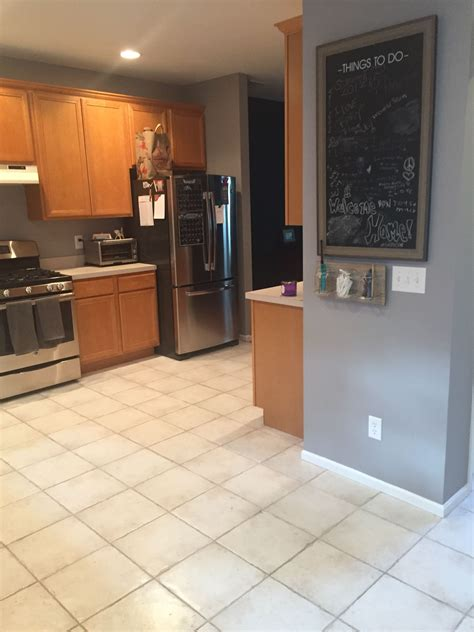 kitchen sherwin williams 6003 proper gray walls rehab