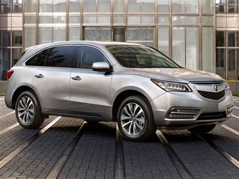 2015 acura mdx sport utility 4d car prices