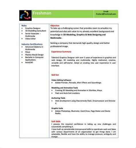 curriculum vitae sles freshers download resume template employers