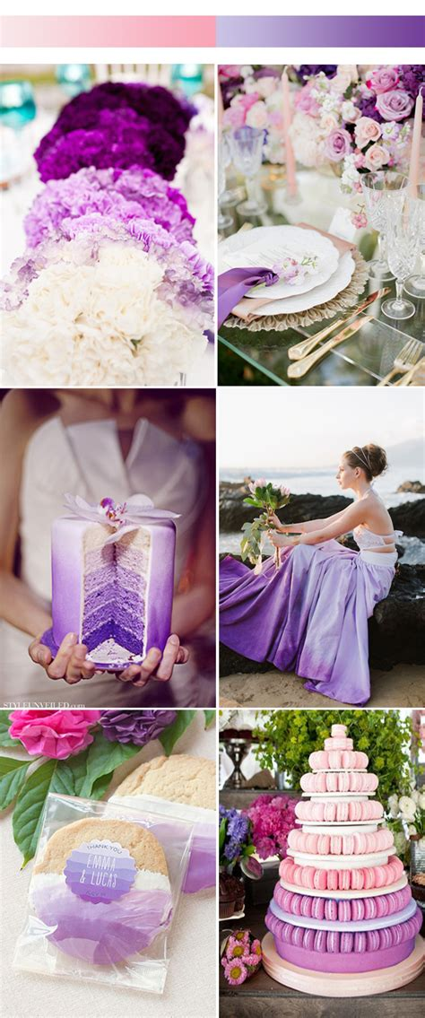 unique ombre wedding color ideas 2017 spring stylish
