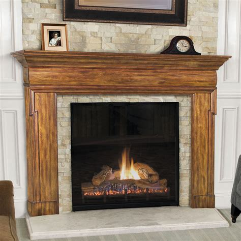 Timber Mantels For Fireplaces