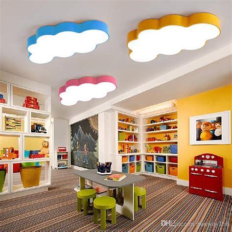 2019 led cloud kids room lighting children ceiling