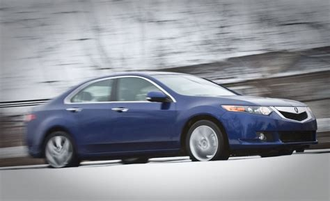 2009 acura tsx road test review car driver