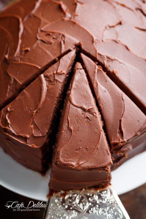 fudgy chocolate cake cafe delites tasty chocolate cake