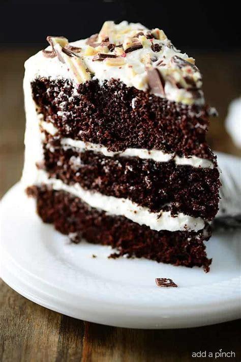 peppermint chocolate cake recipe add pinch