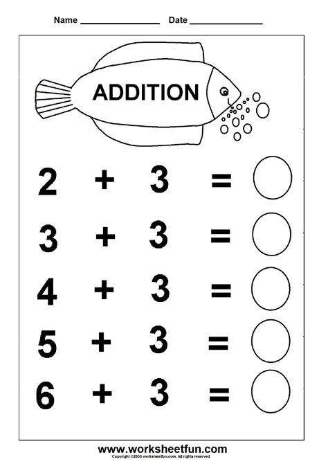 addition 6 worksheets kindergarten math worksheets free kindergarten