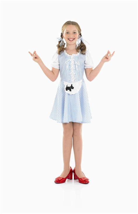 girls dorothy girl costume fairytale oz fancy dress