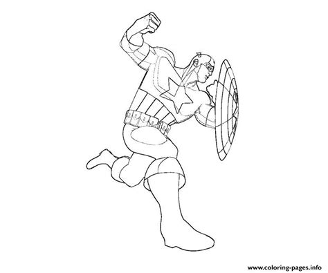 awesome captain america kids2549 coloring pages