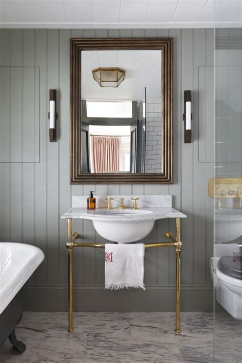 adorable bathroom brass pedestal sink sconces side mirror